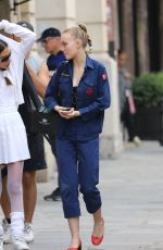 LILY-ROSE DEPP Our Shopping in Paris 08/31/2017