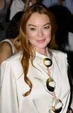 LINDSAY LOHAN at a Fashion Show in Madrid 09/15/2017