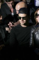 LINDSAY LOHAN at Custo Barcelona Collection at Mercedes-Benz Fashion Week in Madrid 09/17/2017