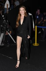 LINDSAY LOHAN at Malne Fashion Show at Mercedes-benz Fashion Week in Madrid 09/16/2017