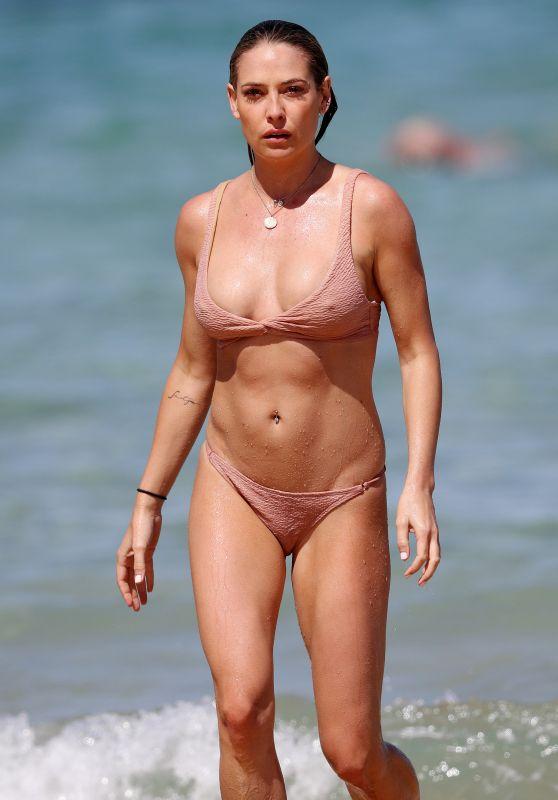 LISA CLARK in Bikini at a Beach in Sydney 09/25/2017