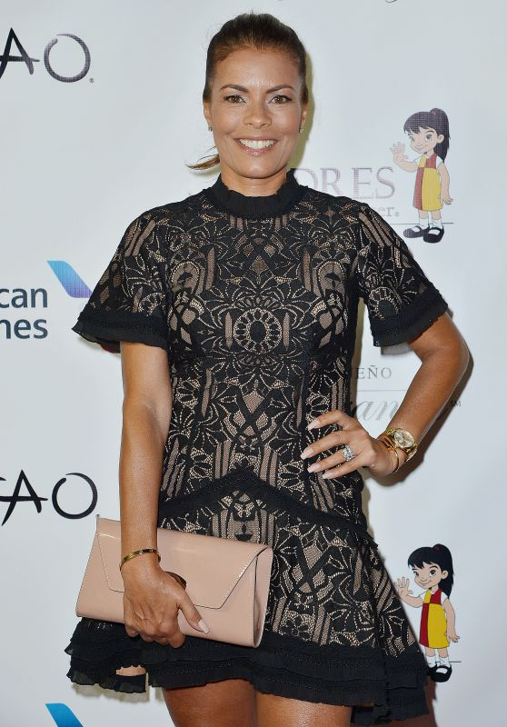 LISA VIDAL at Padres Contra El Cancer's 17th Annual El Sueno de Esperanza Celebration in Los Angeles 09/24/2017
