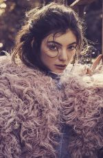 LORDE for Vogue Magazine, Australia October 2017