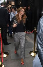 LOUISE REDKNAPP at Topshow Fashion Show at London Fashion Week 09/17/2017