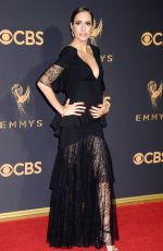 LOUISE ROE at 69th Annual Primetime EMMY Awards in Los Angeles 09/17/2017