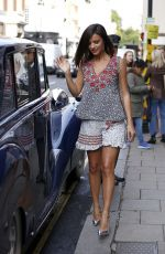 LUCY MECKLENBURGH Leaves Aspinal of London Presentation in London 09/18/2017