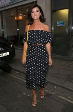 LUCY MECKLENBURGH Out in London 09/05/2017