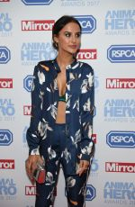 LUCY WATSON at Animal Hero Awards in London 09/07/2017
