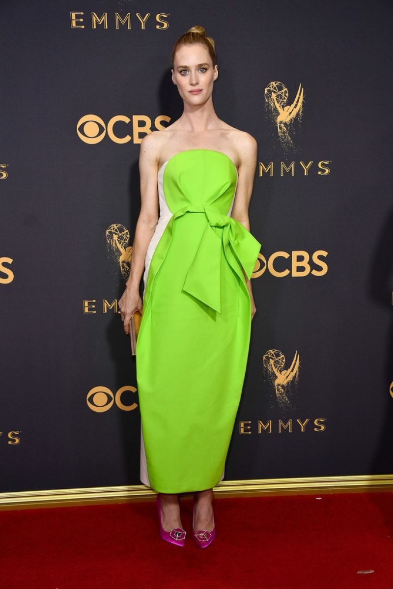 MACKENZIE DAVIS at 69th Annual Primetime EMMY Awards in Los Angeles 09/17/2017