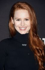 MADELAINE PETSCH at Knott's Scary Farm Celebrity Night in Buena Park 09/29/2017