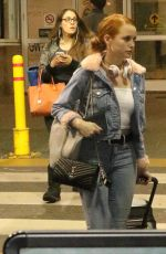 MADELAINE PETSCH at Vancouver Airport 09/24/2017