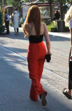 MADELAINE PETSCH Out Shopping at The Grove in Hollywood 09/05/2017