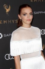 MADELINE BREWER at Television Academy 69th Emmy Performer Nominees Cocktail Reception in Beverly Hills 09/15/2017