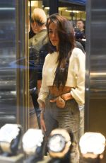 MADISON BEER and Scott Disick at a Diamond and Jewellery Store in New York 09/13/2017
