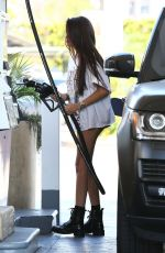 MADISON BEER at a Gas Station in Los Angeles 08/31/2017