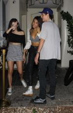 MADISON BEER Leaves Kaia Gerber