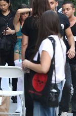 MADISON BEER on the Set of a Photoshoot in New York 09/10/2017