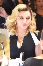 MADONNA Promotes Her MDNA Skin Line at Barneys New York 09/26/2017