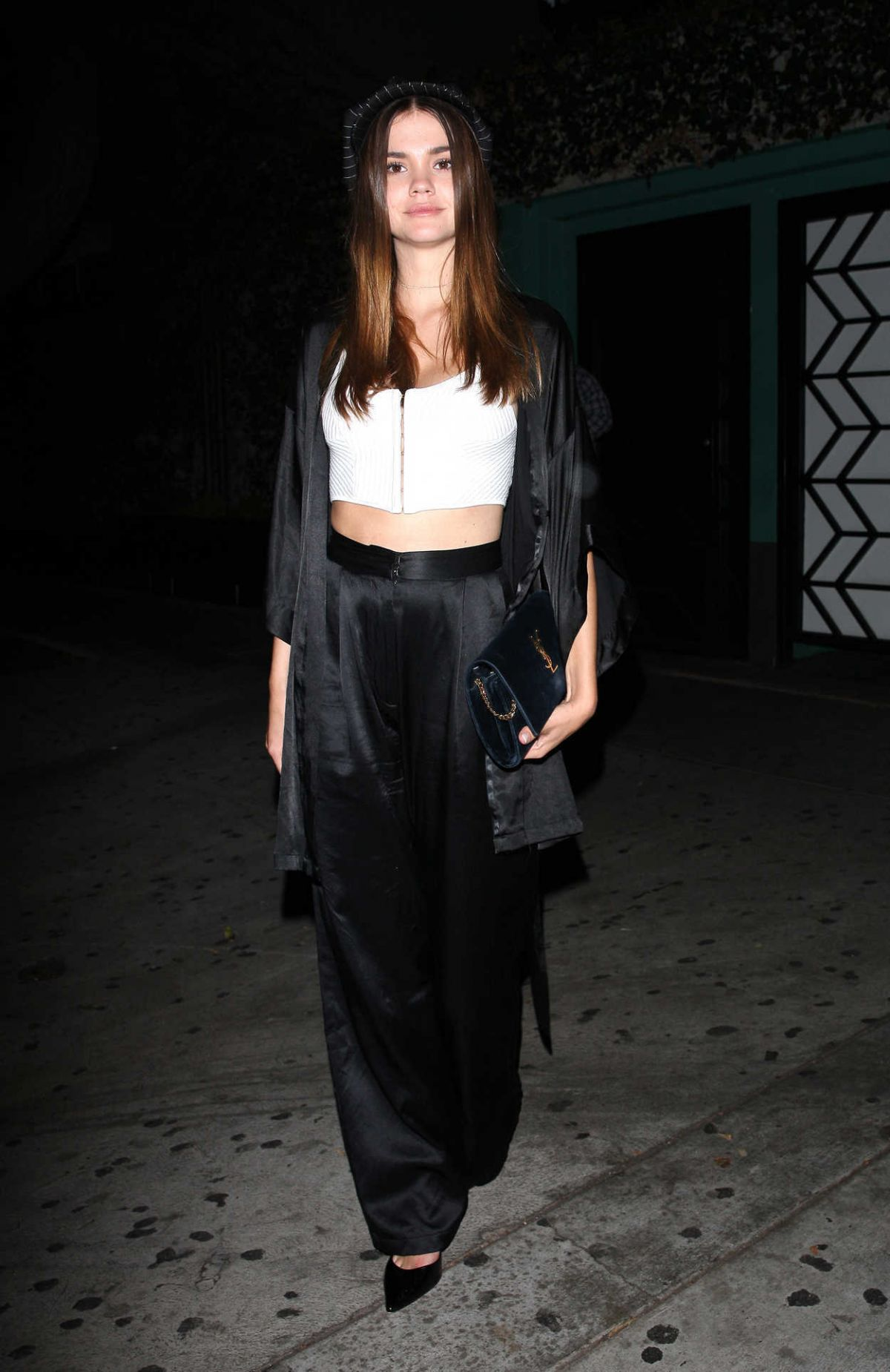 MAIA MITCHELL Leaves Peppermint Night Club in West Hollywood 09/12/2017