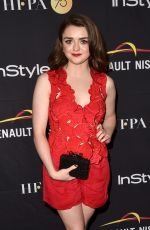 MAISIE WILLIAMS at hfpa & Instyle Annual Celebration of 2017 TIFF 09/09/2017