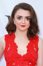 MAISIE WILLIAMS at Mary Shelley Premiere at 2017 Toronto International Film Festival 09/09/2017