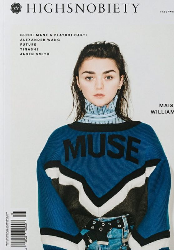MAISIE WILLIAMS for Highsnobiety Magazine, Fall/Winter 2017