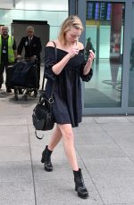 MARGOT ROBBIE Arrives at Heathrow Airport in London 09/18/2017