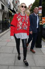 MARGOT ROBBIE at Kiss 100 FM Studios in London 09/21/2017