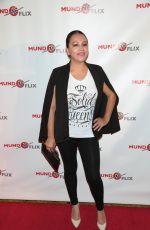 MARIE SENGHORE at MundoFlix Launch Party in Studio City 08/28/2017