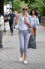MARLA MAPLES Walks Out at Central Park in New York 09/11/2017