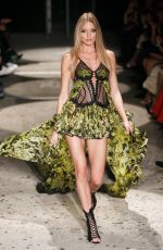 MARTHA HUNT at Julien MaCdonald Fashion Show at London Fashion Week 09/18/2017