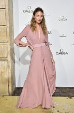 MARTHA HUNT at Omega Her Time Exhibition Launch Party in Paris 09/29/2017