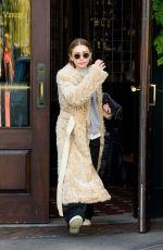 MARY KATE OLSEN Leaves Her Apartment in New York 09/11/2017