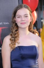MEGAN CHARPENTIER at It Premiere in Los Angeles 09/05/2017