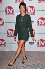MEGAN MCKENNA at TV Choice Awards in London 09/04/2017