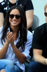 MEGHAN MARKLE and Prince Harry at Invictus Games 2017 in Toronto  09/25/2017