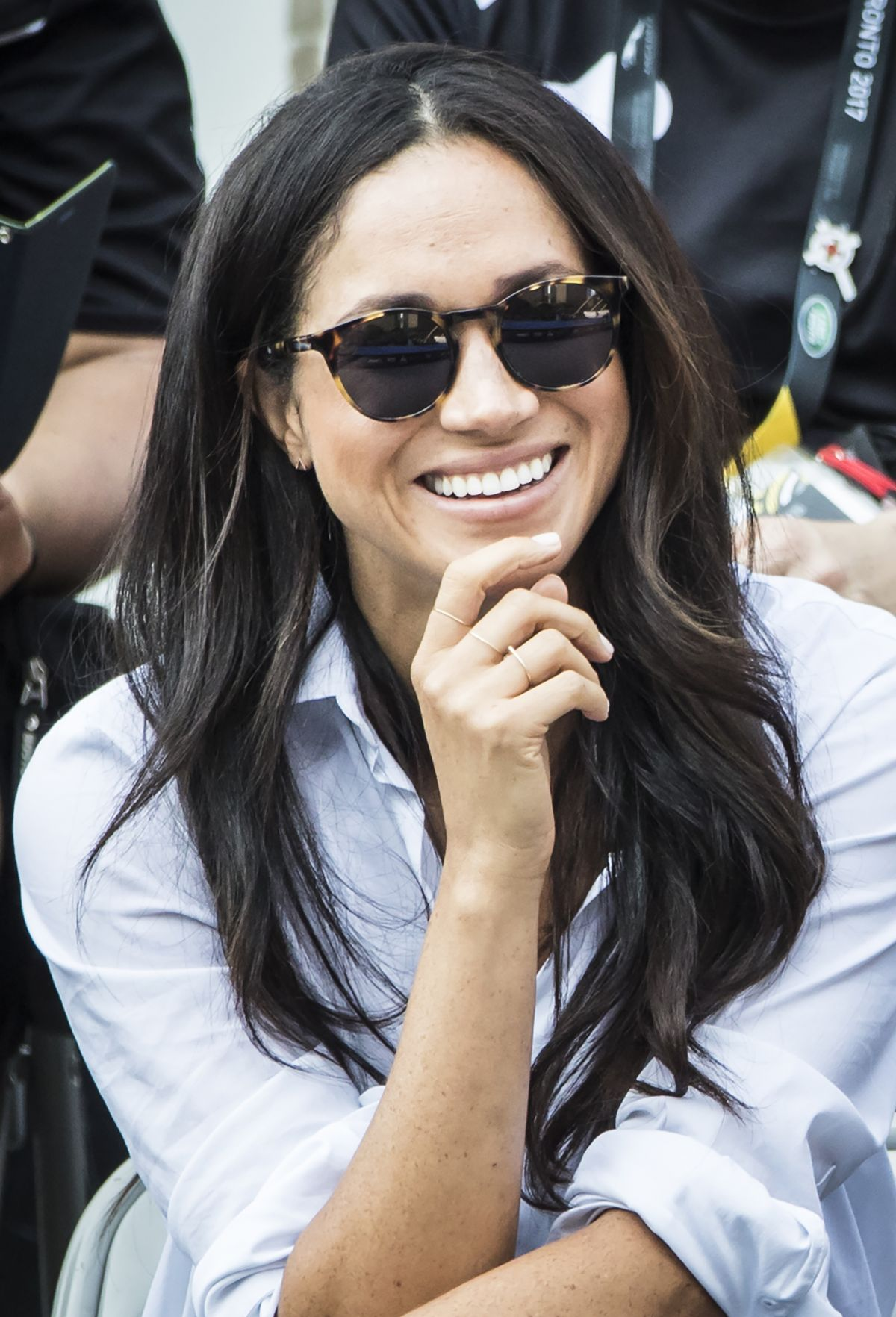 meghan markle and prince harry at invictus games 2017 in