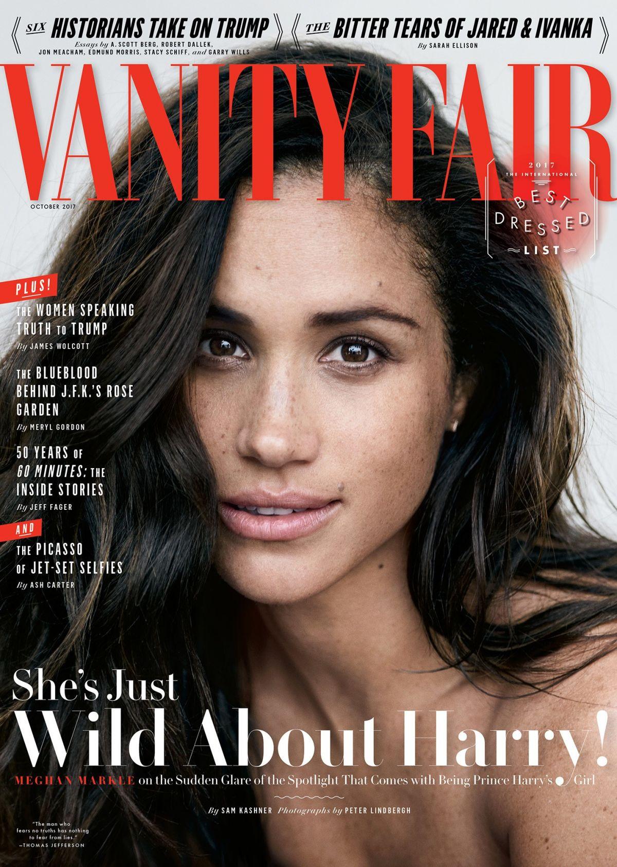 MEGHAN MARKLE for Vanity Fair Magazine, October 2017