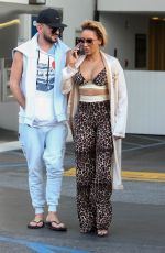 MELANIE BROWN and Gary Madatyan Out in Beverly Hills 09/27/2017