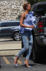 MELANIE BROWN Out and About in Studio City 09/04/2017