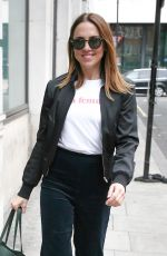 MELANIE CHISHOLM at BBC Studios in London 09/16/2017