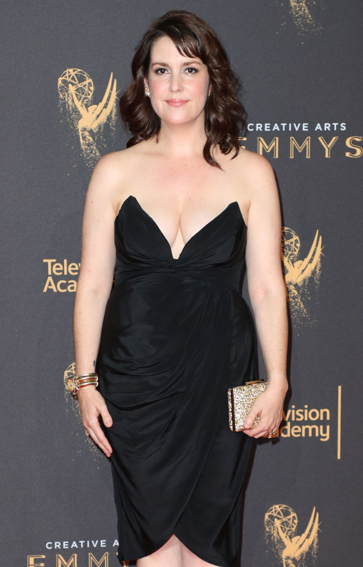 MELANIE LYNSKEY at Creative Arts Emmy Awards in Los Angeles 09/10/2017