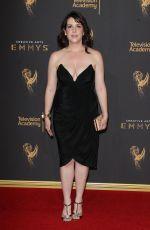 MELANIE LYNSKEY at Creative Arts Emmy Awards in Los Angeles 09/10/2017