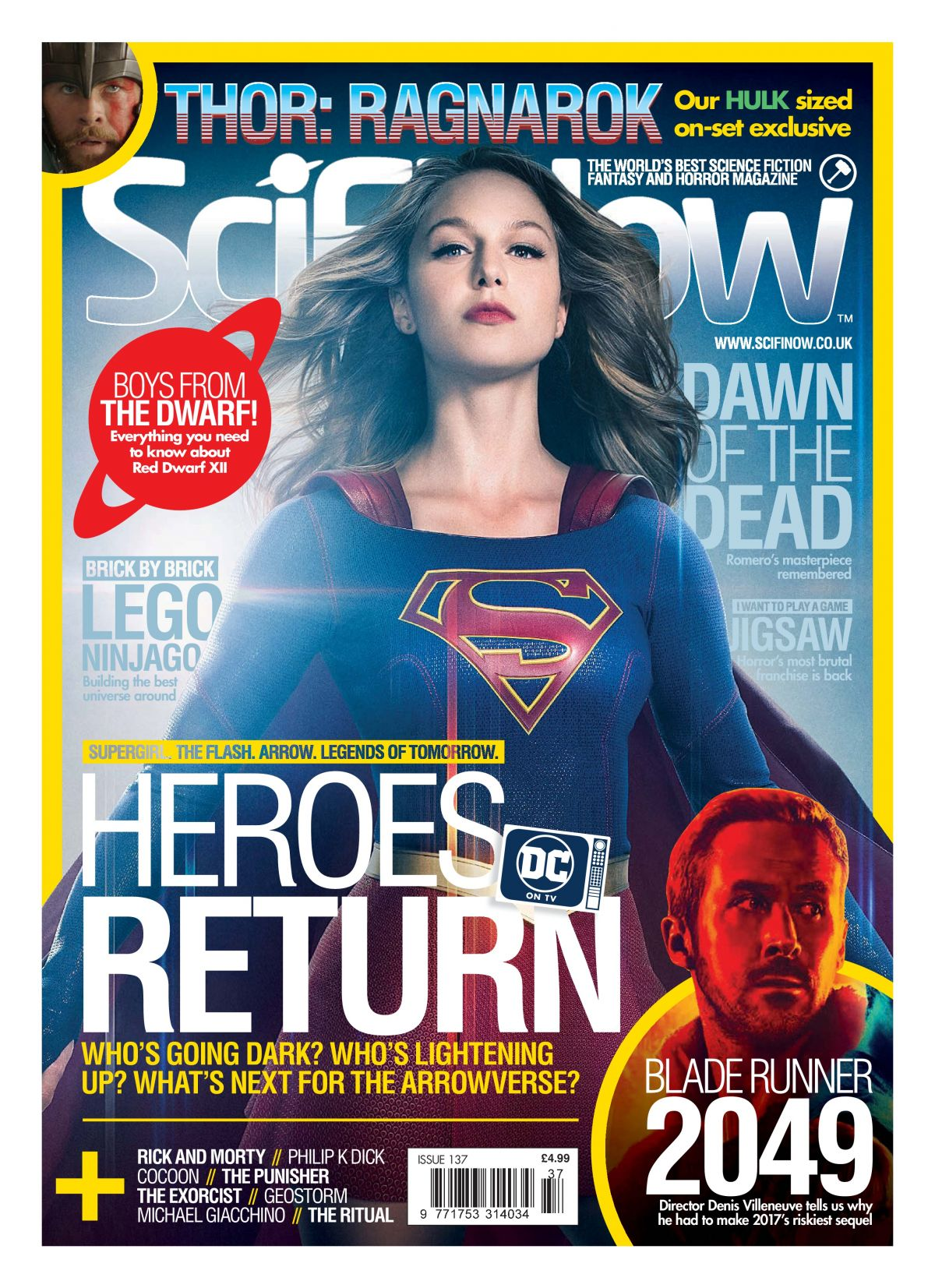 MELISSA BENOIST in SciFiNow Magazine, Issue 137