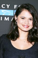 MELONIE DIAZ at Mercy for Animals Annual Hidden Heroes Gala in Los Angeles 09/23/2017