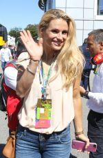 MICHELLE HUNZIKER at Formula One Italian Grand Prix in Monza 09/003/2017