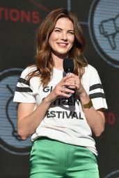 MICHELLE MONAGHAN at Global Citizen Festival in New York 09/23/2017