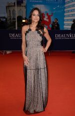 MICHELLE RODRIGUEZ at The Zookeepers Wife Screening in Deauville 09/07/2017