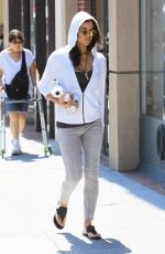 MICHELLE RODRIGUEZ Out and About in Beverly Hills 08/30/2017