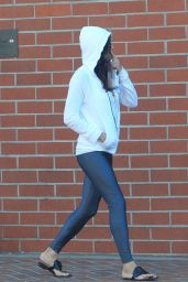 MICHELLE RODRIGUEZ Out and About in Beverly Hills 09/21/2017
